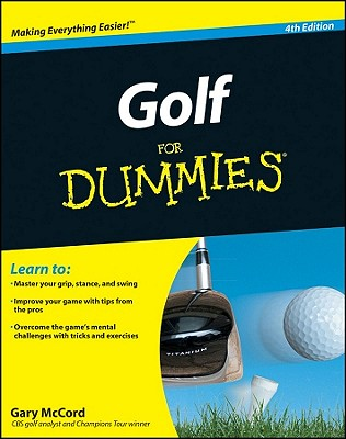 Golf for Dummies By McCord, Gary